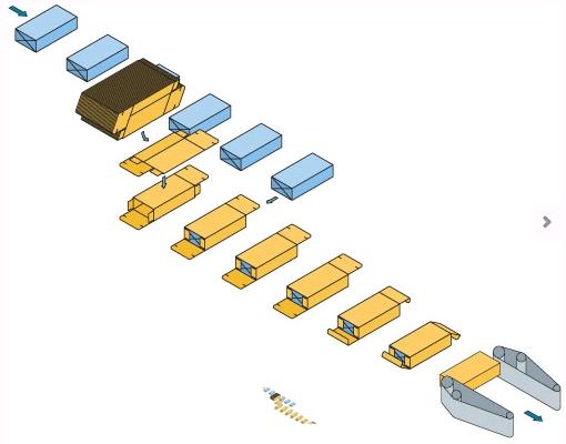 Схема работы С222